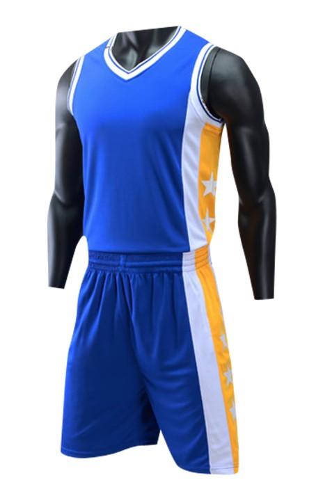 SKWTV042 製作籃球衫套裝 比賽運動背心 透氣 波衫製造商