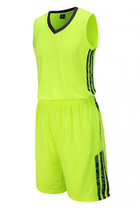 SKWTV045 設計籃球衫套裝 運動比賽訓練衫 波衫製衣廠