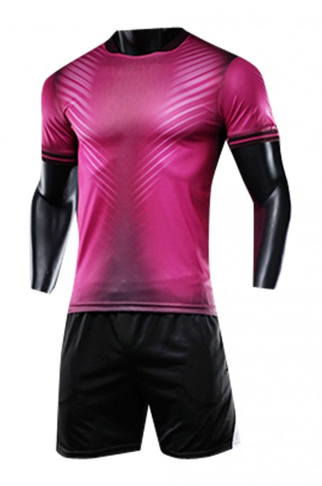 SKWTV057 設計短袖足球隊衫 包邊袖口 波衫製衣廠