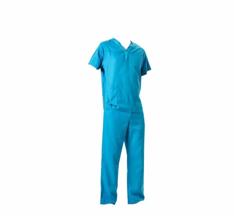 SKSN002 訂做手術服洗手衣  口腔醫院 分體套裝 刷手服 手術袍製衣廠