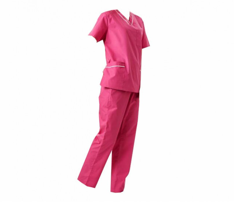SKSN005 訂製手術袍 短袖護士服 洗手衣 美容院制服 分體套裝洗手服 刷手服 手術袍製造商