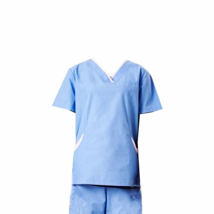SKSN006 設計手術袍 護士洗手衣 醫院制服 分體套裝  手術袍廠房