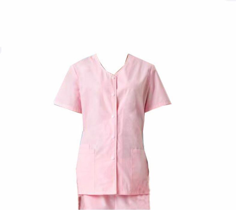SKSN009 自訂手術袍 短袖制服 美容院 寵物醫院護士工作服 女款分體套裝洗手衣  手術袍廠房