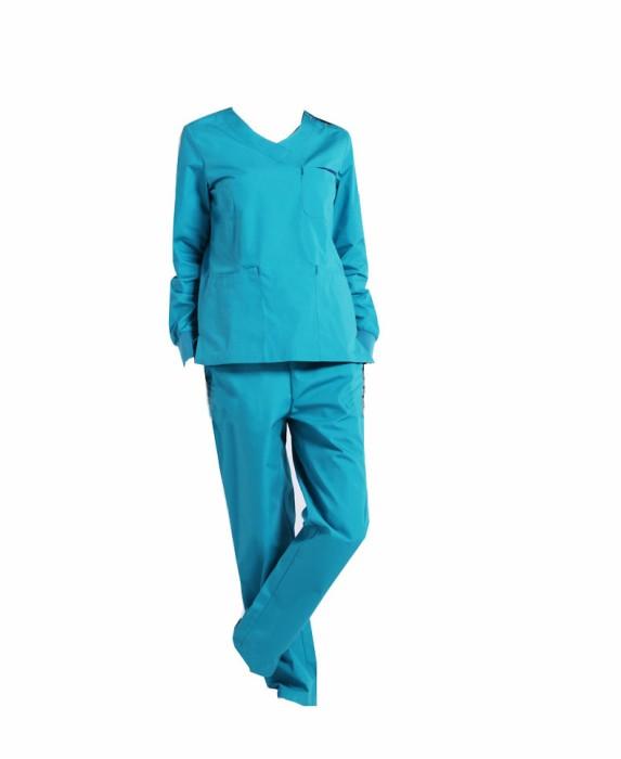 SKSN011 訂做手術袍 長袖手術衣 醫生服  護士洗手服  手術袍工廠