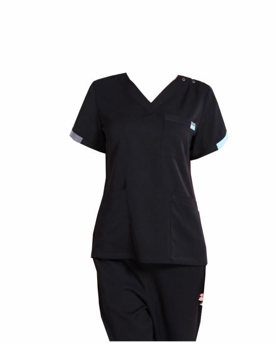 SKSN012 自製手術袍 醫生服 口腔診所工作服 彈力洗手服 刷手服 手術袍專營