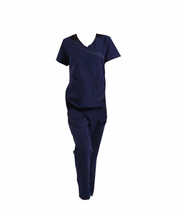 SKSN013 製造手術袍 醫生服 短袖手術 護士洗手服 分體套裝  刷手服 手術袍生產商