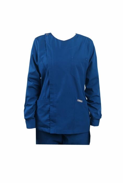 SKSN017 製作手術袍 長袖洗手服  手術麻醉師隔離衣  刷手服 手術袍生產商