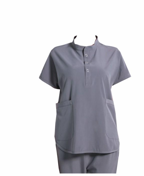 SKSN019 訂做手術袍 企領彈力洗手服 醫生手術服   刷手服 手術袍製造商