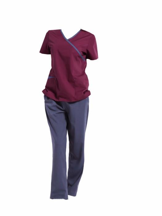 SKSN024 自製手術袍 隔離短袖工作服  醫生服  刷手服 手術袍中心