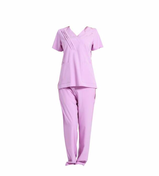 SKSN025 訂做手術袍 V領洗手服 美容師工作服 刷手服 口腔科醫生 手術袍生產商