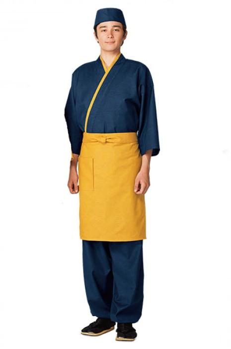 SKBB008 訂購日式餐廳制服 長款半身圍裙 日式圍裙  圍裙製造商
