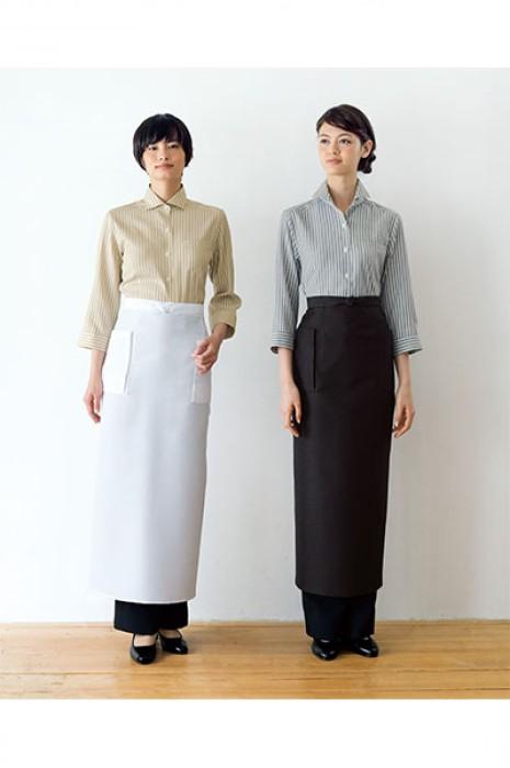 SKBB018  設計餐廳長款圍裙 日式餐廳圍裙 圍裙專門店