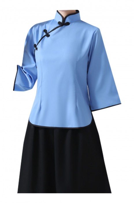 SKBB020   訂購小鳳仙清潔服   采茶服   酒店清潔服製造商
