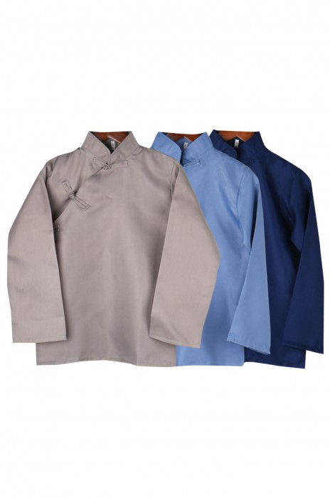 SKBB021    訂購小鳳仙清潔服   復古斜偏大襟褂   戲曲演出   酒店清潔服製造商