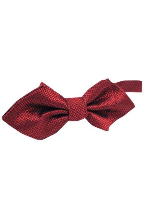 SUBO04 設計暗格紋尖頭領結 訂購蝴蝶結領呔  來樣訂造領結 領呔供應商