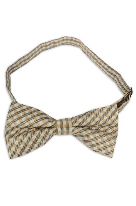 SUBO20 訂造男士韓版領結 結婚新郎伴郎款 時尚英倫格紋領結 領結專門店