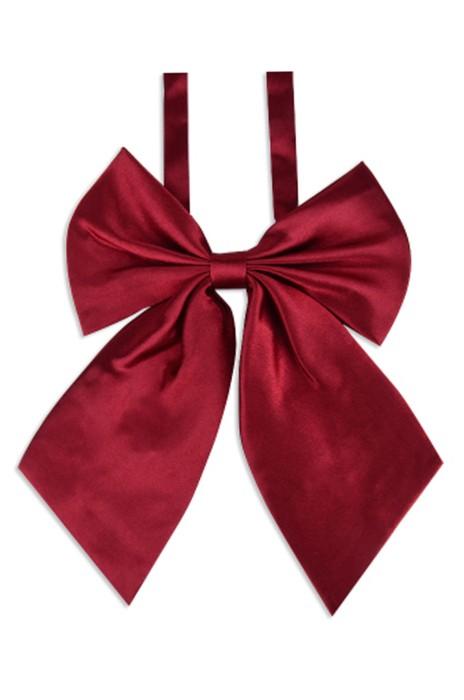 SKCF01  製作酒店空姐職業領花  訂造女服務員正裝蝴蝶結 供應工作服襯衫純色領結  領結專門店