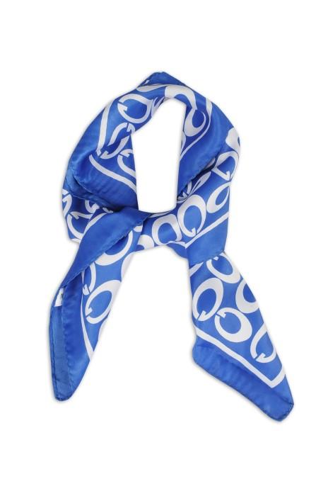 SKN17 訂做仿真絲小方巾 韓國百搭文藝領巾 職業領巾 領巾供應商