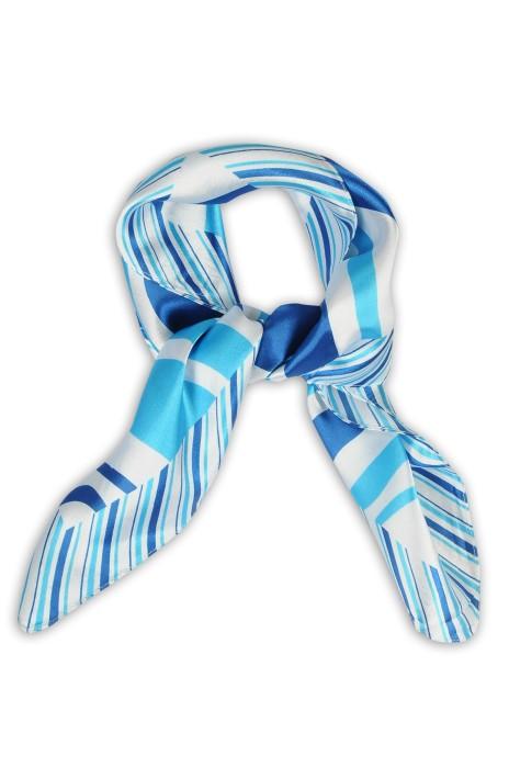 SKN20 訂製韓版高级時尚小方巾 絲巾 女百搭裝飾用領巾 領巾生產商