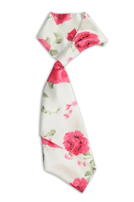 SKN27 訂製女職業絲巾 花朵印花 時尚百變絲巾 絲巾生產商