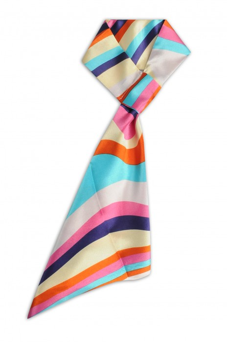 SKN28 訂做春秋領巾 斜紋 職業領巾 時尚百變絲巾 領巾生產商