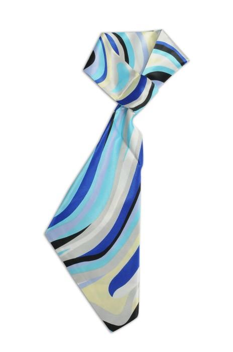 SKN30 製作職業女士百搭領巾 波浪紋 時尚百變絲巾 領巾專門店