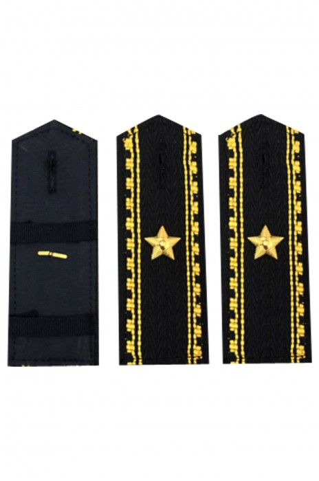 SKAB005 設計保安物業金屬肩章 服飾配飾