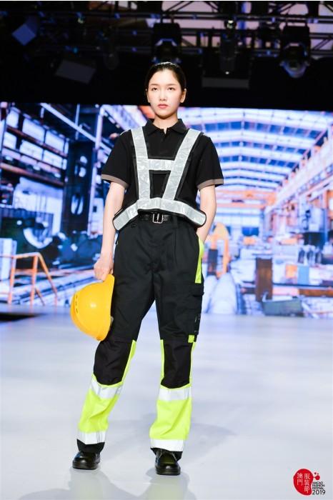 MDD002 模特走秀反光制服  個人展示安全制服 工業制服hk中心