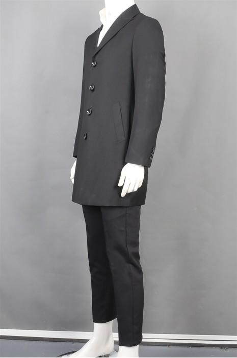 iG-BD-CN-134 订制长款男西装套装 设计条纹男西装 男西装中心