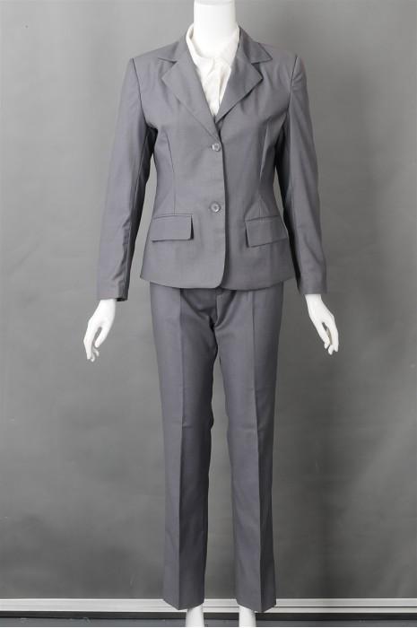 iG-BN-CN-019 网上下单女西装 来样订做修身女西装 女西装制造商