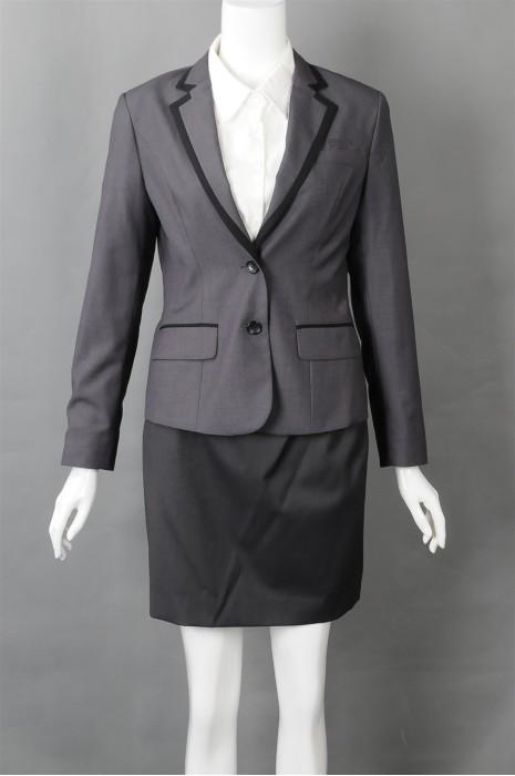 iG-BN-CN-020 设计正装裙装西装  大量订造女西装 女西装hk中心
