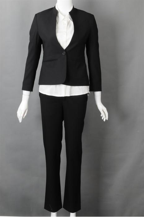 iG-BN-CN-025 订购贴身剪裁女西装 来样订造女西装 西装制衣厂