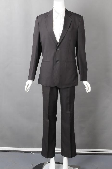 iG-BN-CN-051  来样订做条纹女西装  网上下单女西装 女西装制造商