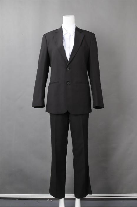 iG-BN-CN-050 制作条纹女西装 设计裤装修腰女西装 女西装制服公司