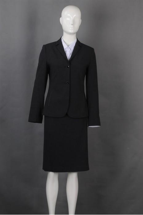 iG-BN-CN-068 制造修身女西装裙  网上下单女西装 女西装供应商