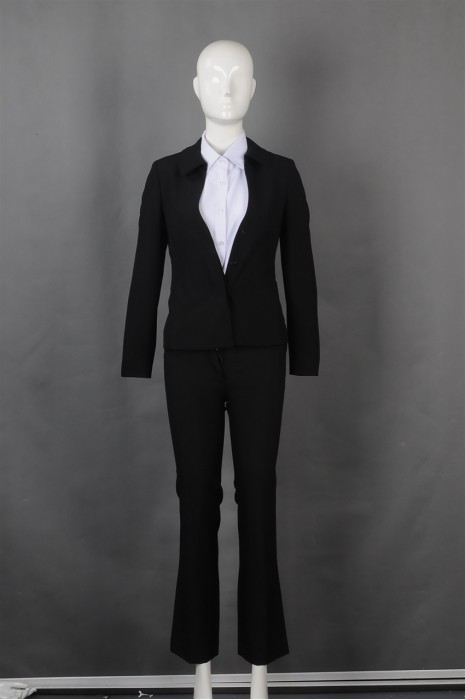 iG-BN-CN-072 设计修身女西装套装 度身订造女西装 女西装制衣厂