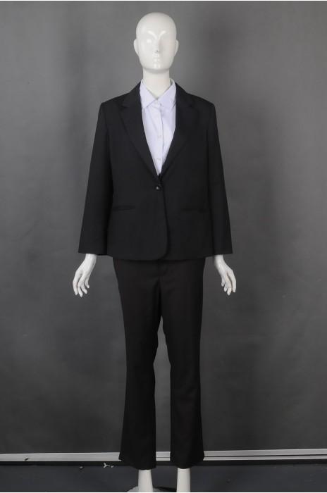 iG-BN-CN-070 来样订做女西装 时尚女款西装 正装女西装制服公司