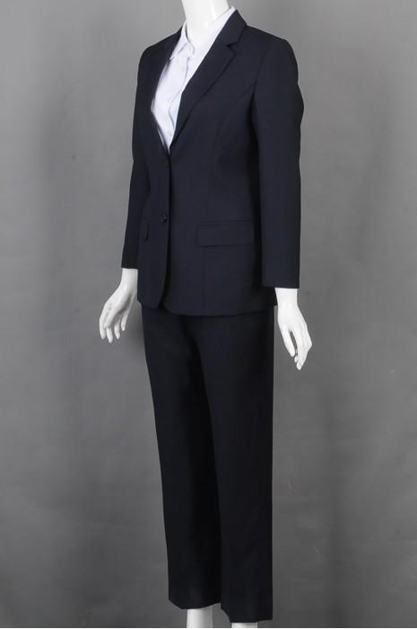 iG-BD-CN-165 供应蓝色女西装 网上下单女西装 女西装制造商