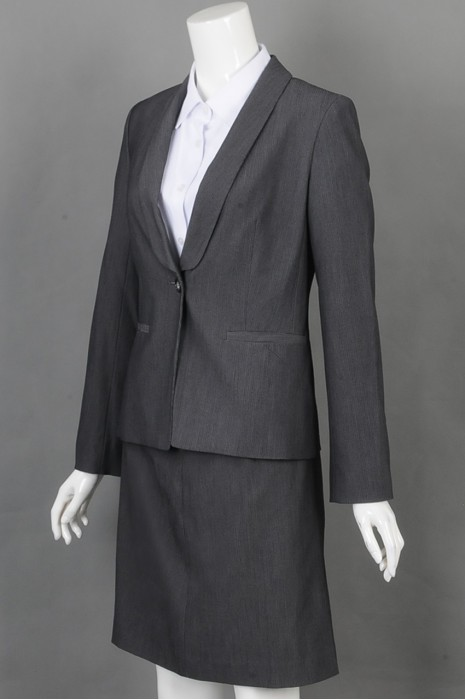 iG-BD-CN-162 来样订做三件套西装 设计修身女西装 女西装供应商