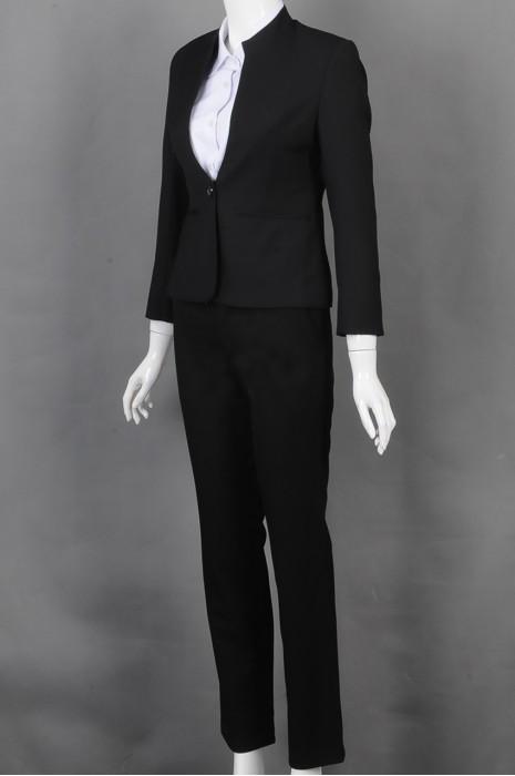 iG-BD-CN-164 设计立领女西装裙 订购修身女西装 女西装专门店
