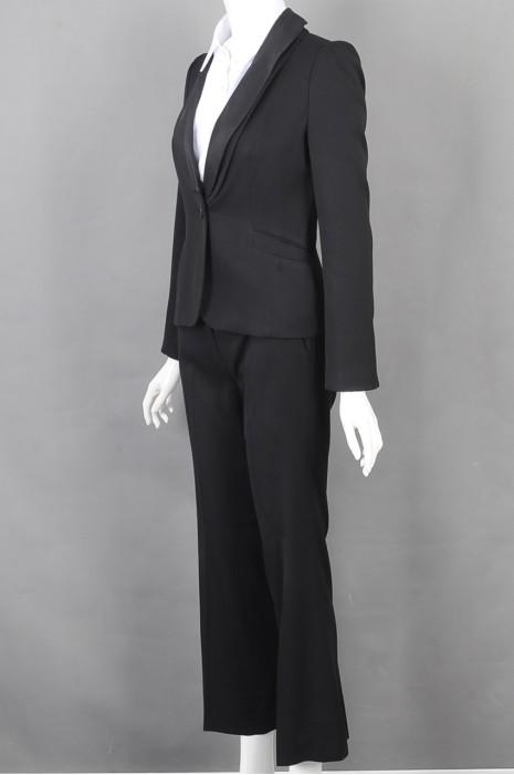 iG-BD-CN-157 制作裤装女西装 订购合身女西装 女西装hk中心
