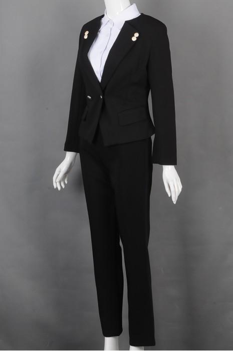 iG-BD-CN-153 制造修身时尚女西装 来样订造女西装 女西装制服公司