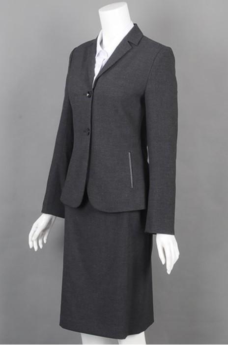 iG-BD-CN-152  设计修身女西装套装 度身订造女西装 女西装制衣厂