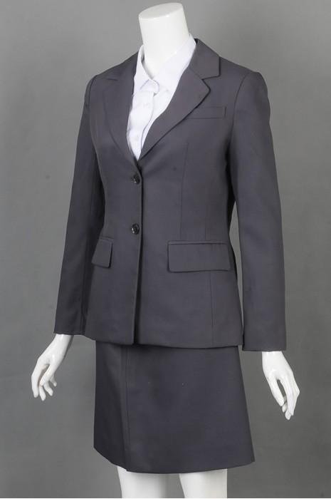 iG-BD-CN-150 来样订做女西装 设计时尚女西装 女西装hk中心