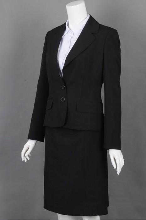 iG-BD-CN-148 来样订做女西装 设计时尚女西装 女西装hk中心