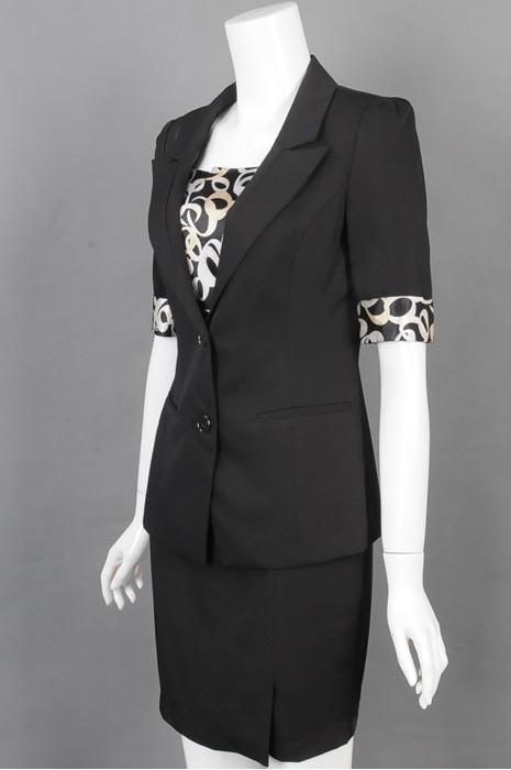iG-BD-CN-145 订购时尚女西装 豹纹 网上下单女西装 女西装hk中心