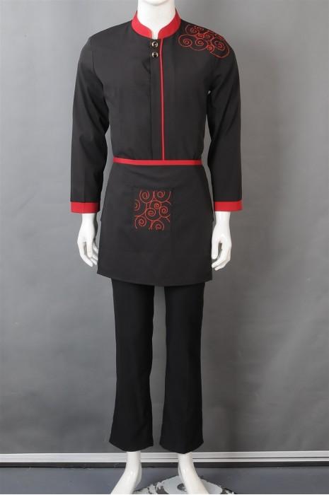 iG-BN-CN-038 来样订做餐饮制服 网上下单厨师制服 厨师制服制造商