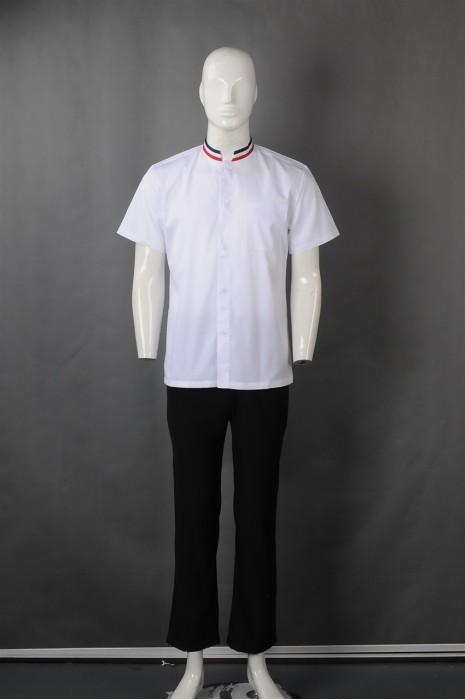 iG-BN-CN-062 网上下单厨师制服 来样订做白色厨师制服 厨师制造商