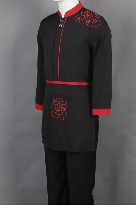 iG-BD-CN-065 来样订做餐饮制服 网上下单厨师制服 厨师制服制造商