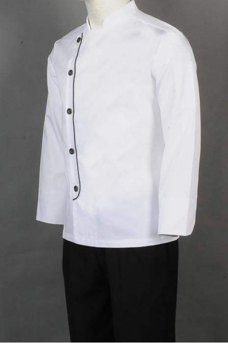 iG-BD-CN-062 网上下单厨师制服 来样订做白色厨师制服 厨师制服hk中心
